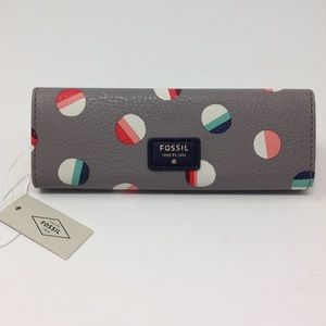 NWT Fossil Trifold Eye Glass case